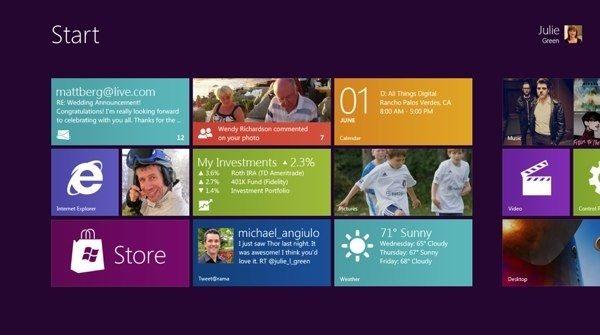 Windows 8 to store personal settings across PCs 1