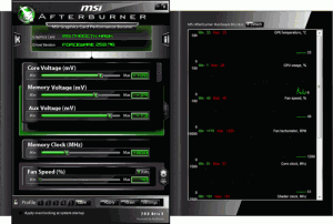 MSI Afterburn updated and available in BETA 1