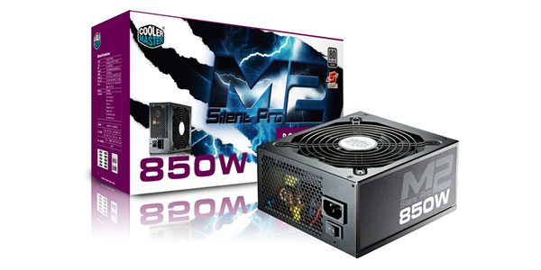 Win one of three Cooler Master Silent Pro M2 850W Power Supplies
