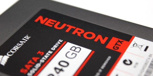 Corsair Neutron GTX 240GB Solid State Drive Review 1