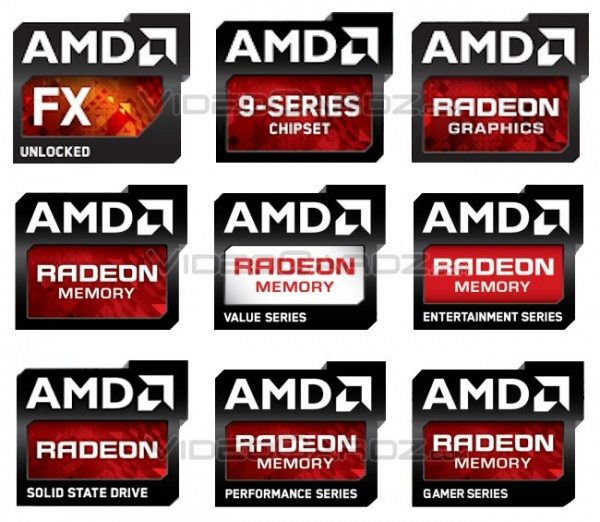 AMD's New Logo Shows Different Series For Memory Kits | eTeknix
