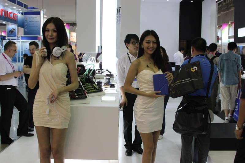 Computex: Booth Babes Part 1!