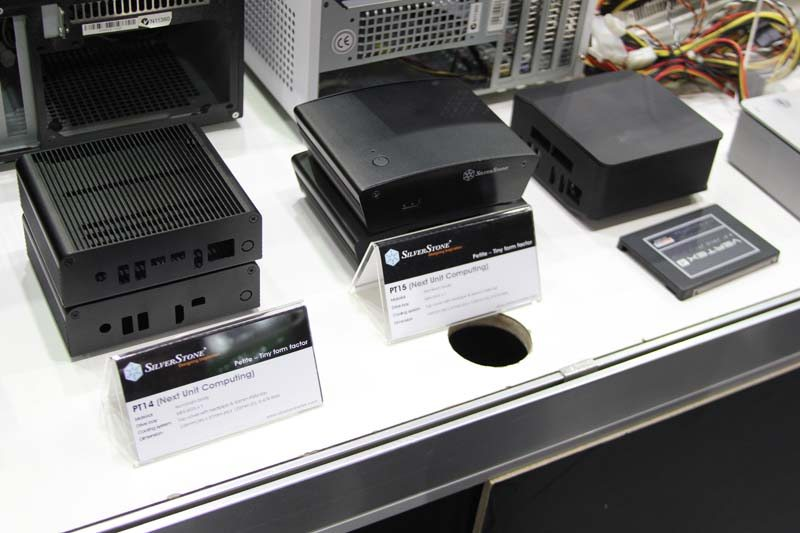 Computex: Silverstone Display NUC (Next Unit Computing) Chassis Ranges