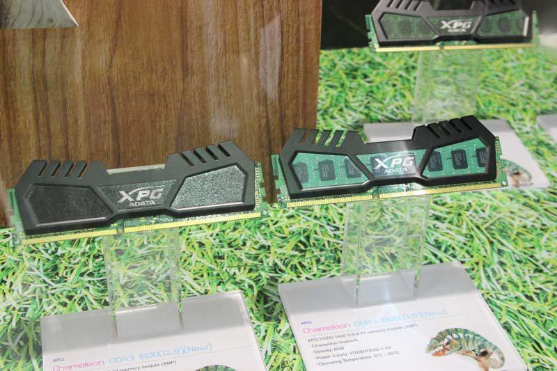 "Computex: ADATA Showcase Quirky XPG ""Chameleon"" DDR3 RAM Kits"