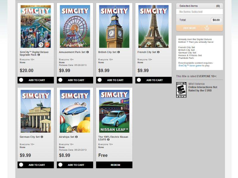 SimCity-DLC-June