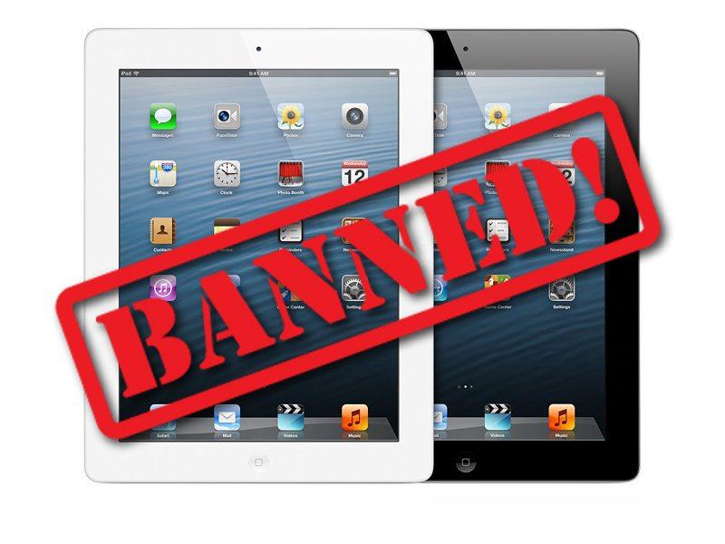 iPad 2 Banned