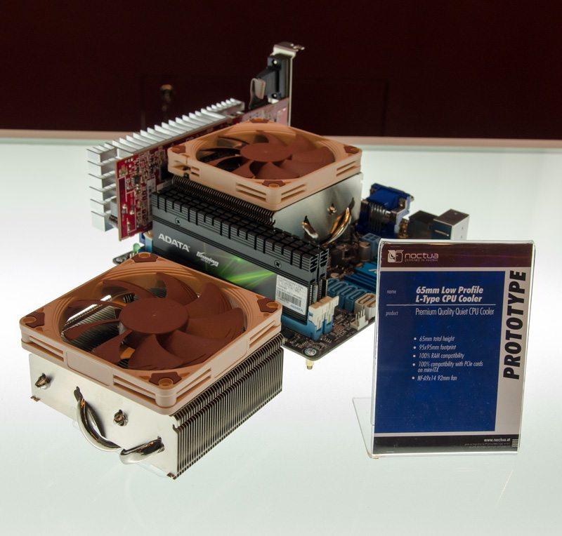 Computex: Noctua Unveil 65mm L-Type Low Profile Cooler