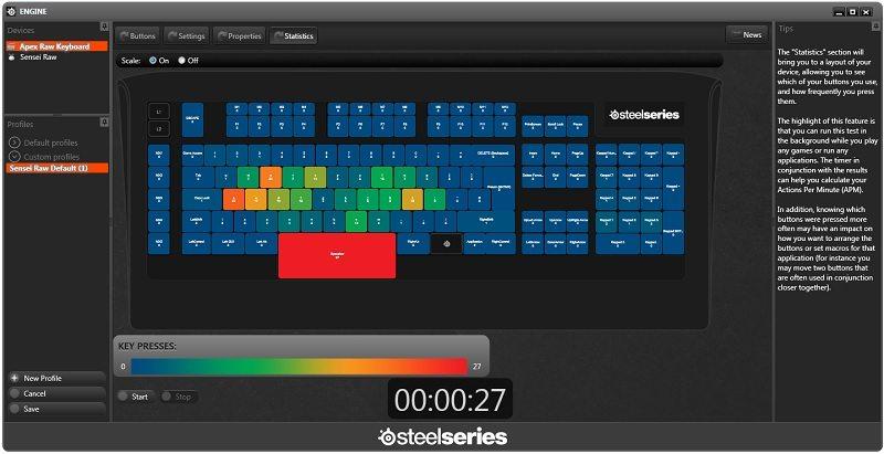Steelseries APEX [RAW] Gaming Keyboard Review | eTeknix