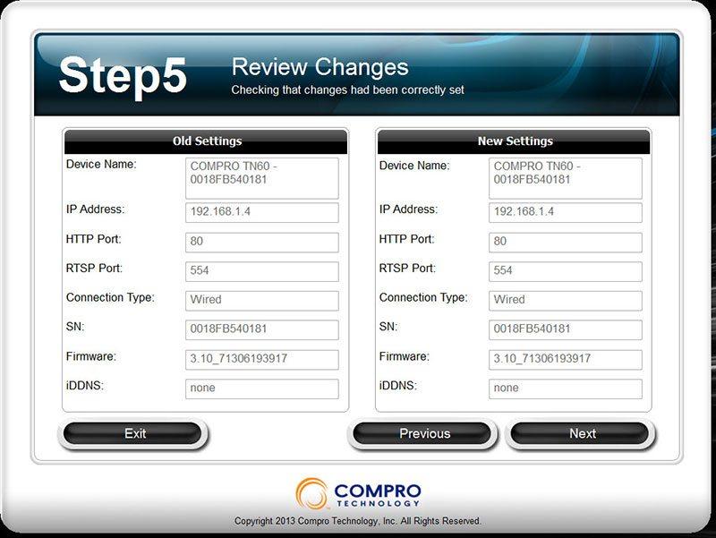 Compro TN60W Cloud IP Camera Review 7