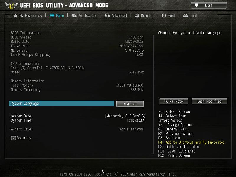 ASUS Z87 BIOS (4)