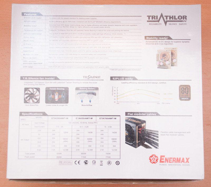 Enermax Triathlor 700W (2)