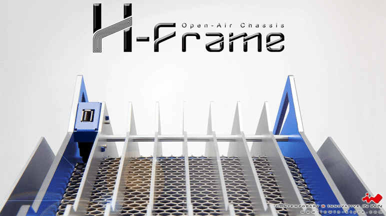In Win H-Frame ATX Chassis Review | eTeknix