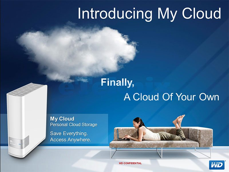 Western Digital Announce New Product Line – My Cloud | eTeknix