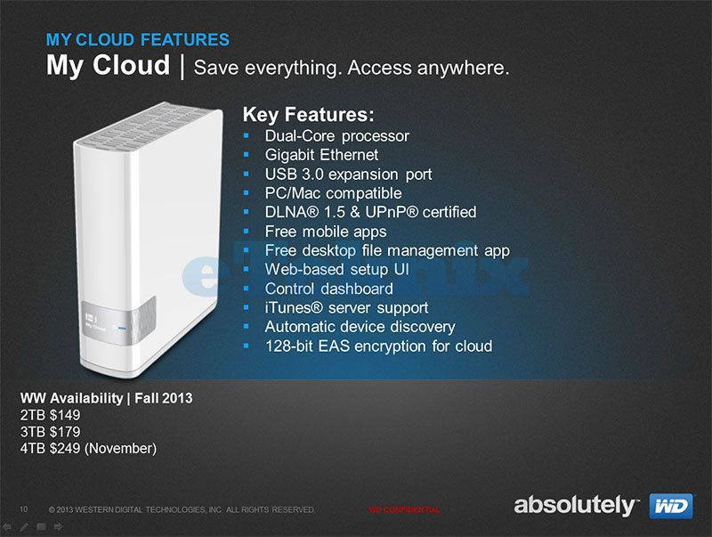 western digital announce new product line my cloud eteknix