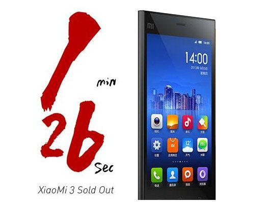 XiaoMi-3-100-thousand