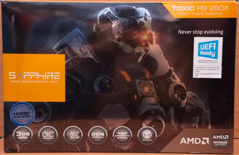Sapphire R9 280X Toxic Edition 3GB Review | eTeknix