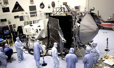 Stowing MAVEN's Solar Arrays
