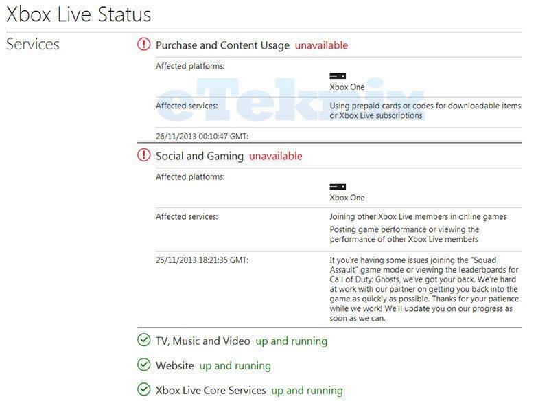 XboxOne_ServiceStatus