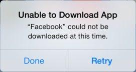 facebook-app-store-error
