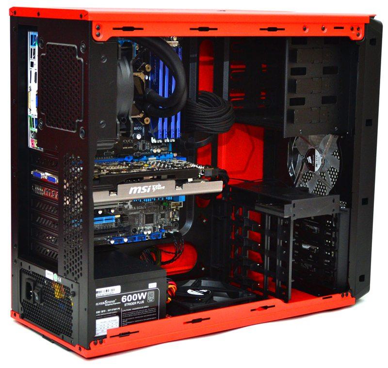 Corsair Graphite 230t Windowed Mid Tower Rebel Orange