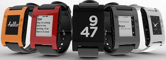 Pebble Smartwatches Available On The Amazon Store