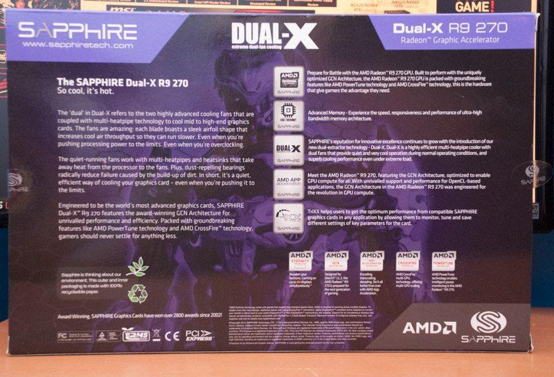 Sapphire R9 270 Dual X (2)