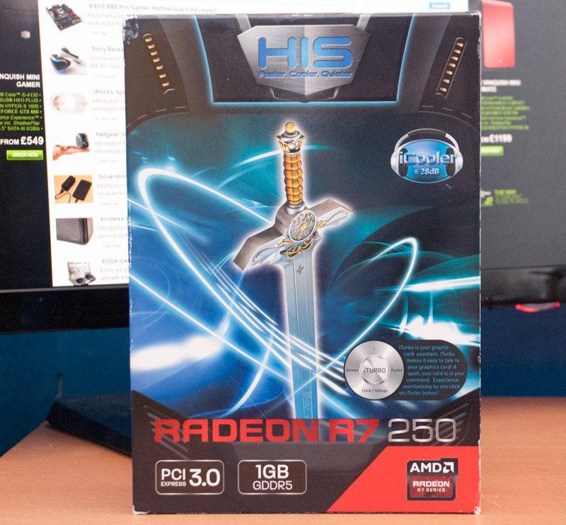 HIS R7 250 iCooler Boost Clock 1GB Review | eTeknix