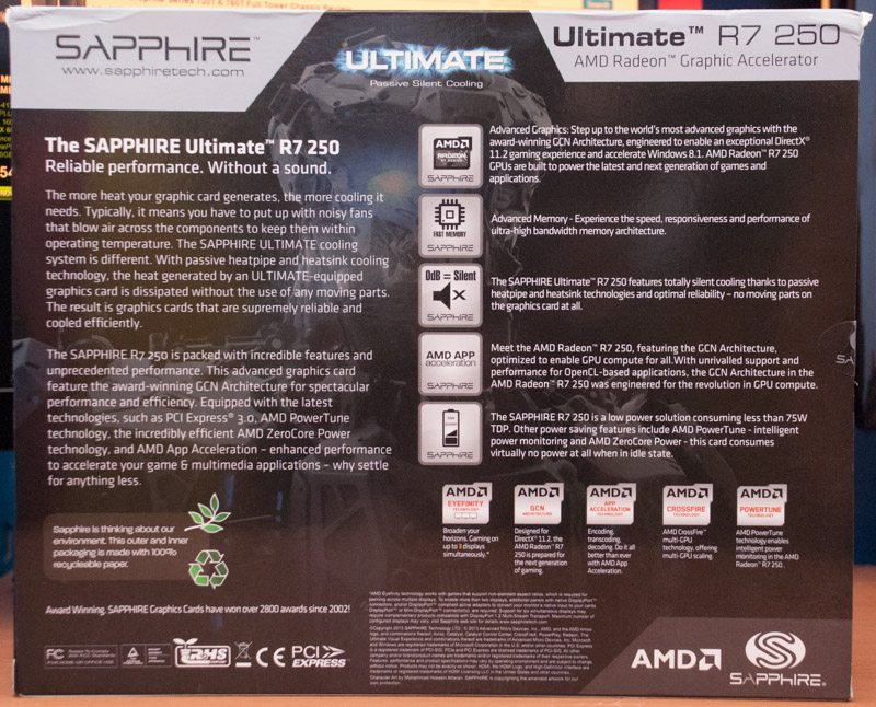 Sapphire R7 250 Ultimate (2)