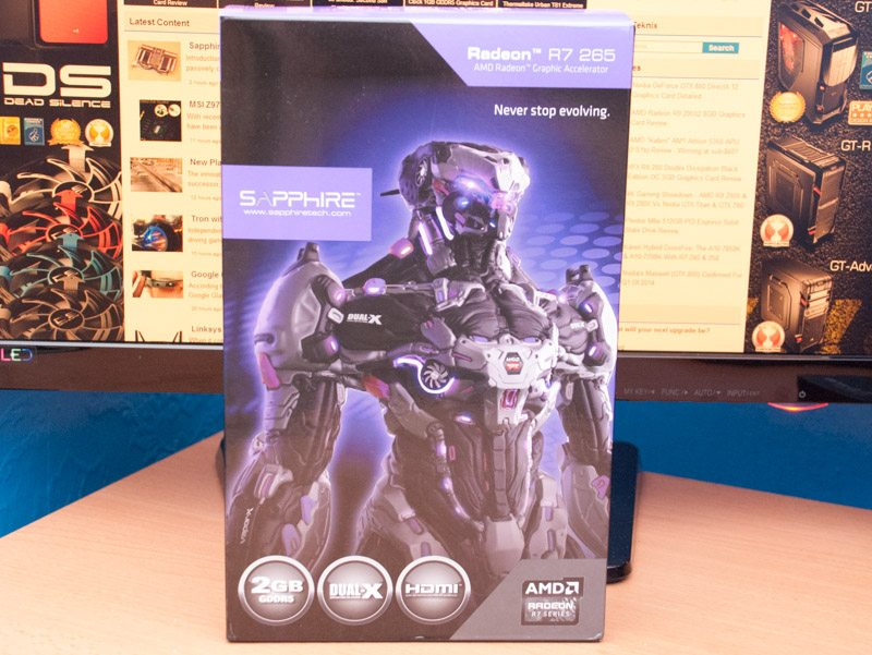 Sapphire AMD Radeon R7 265 Dual-X 2GB Review | eTeknix