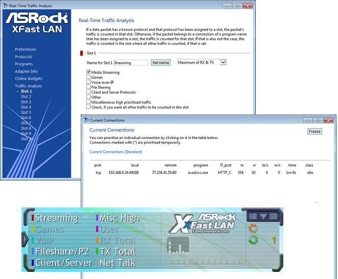 ASRock Z97X Fatality Killer software xfastlan