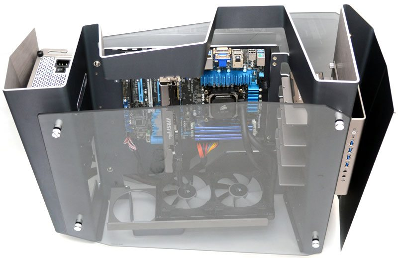 In Win S Frame Open Air Limited Edition Chassis Review