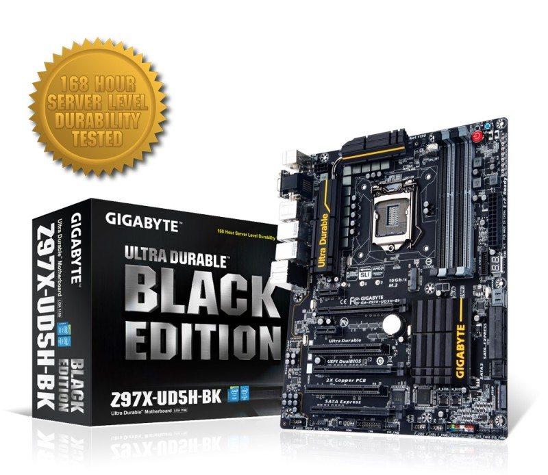 Gigabyte Z97X UD5H Black Edition Lead