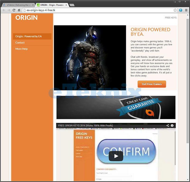 OriginScam1