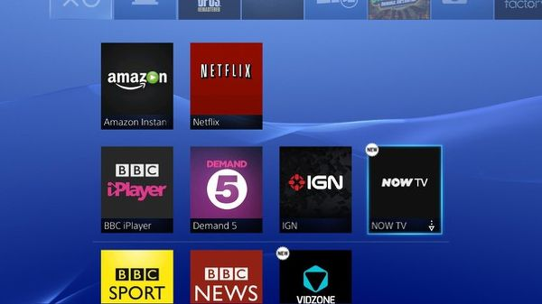 Now TV Lands on the PlayStation Store in UK | eTeknix