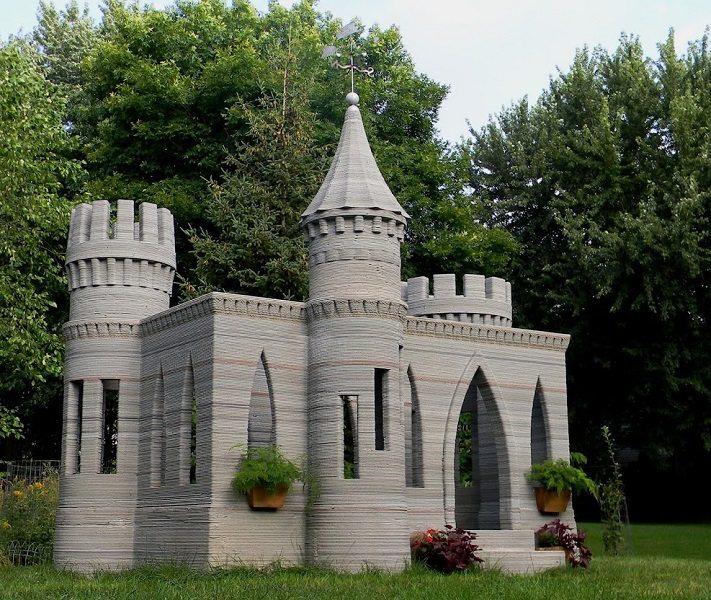 3d castle full