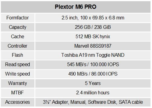 Plextor_M6pro_256gb_specifications