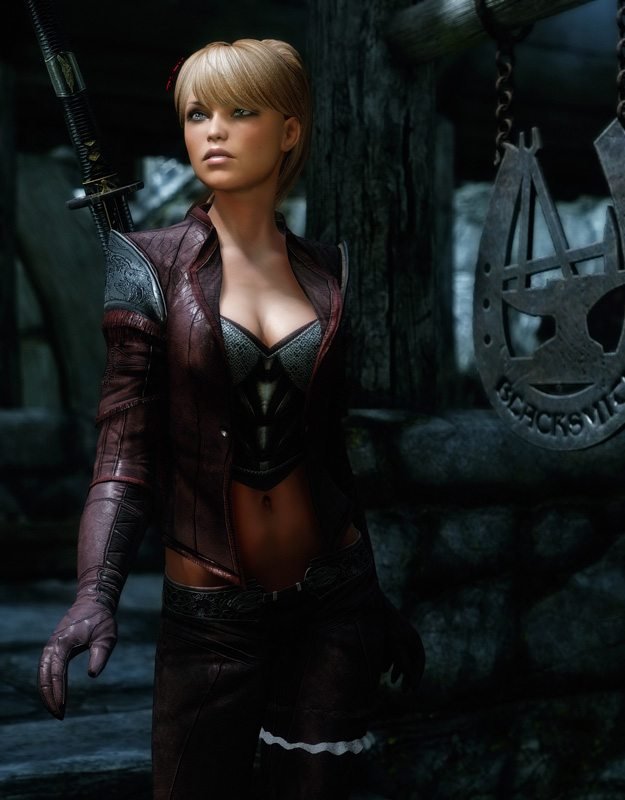 how to change your race in skyrim pc