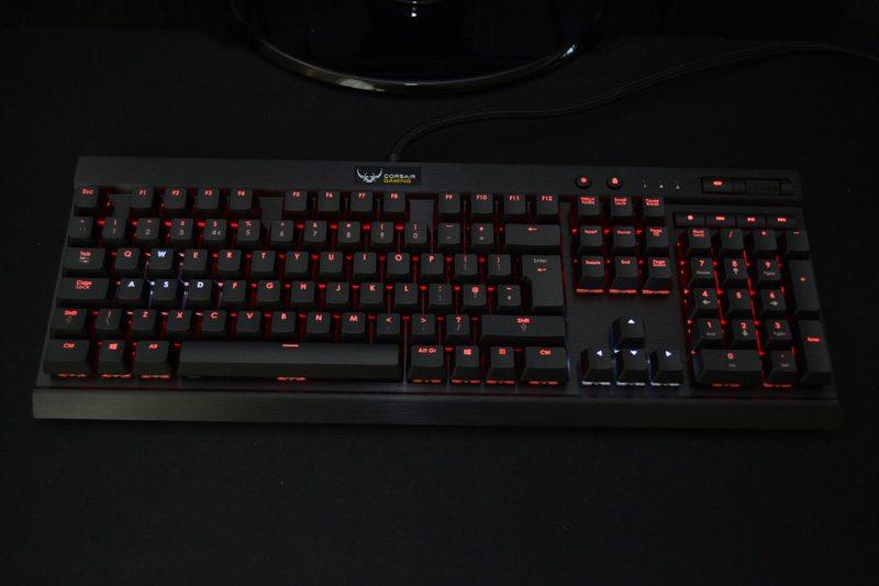 corsair rainbow keyboard