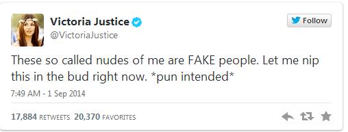 victoria justice twitter