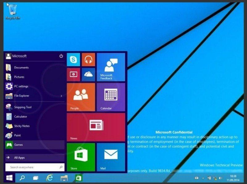 windows 9 desktop