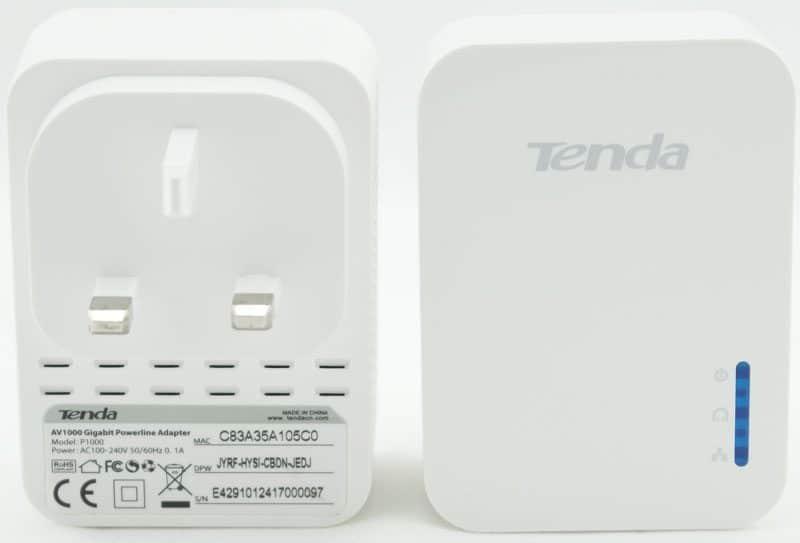 Tenda_AV1000_Kit-front'nback-view