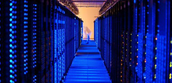 Amazon data centre