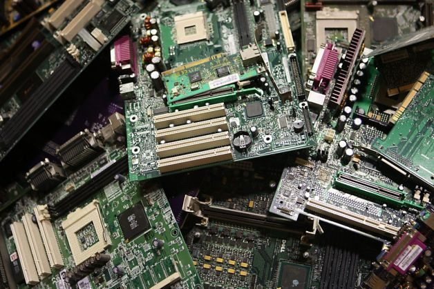 pile-of-motherboards