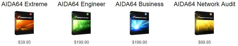 aida 5.0 prices