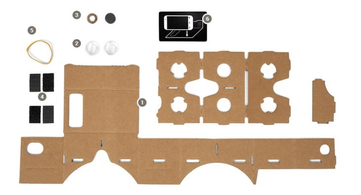 google cardboard vr 2