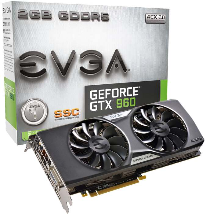 EVGA 960 SuperSC ACX 2.0p 1