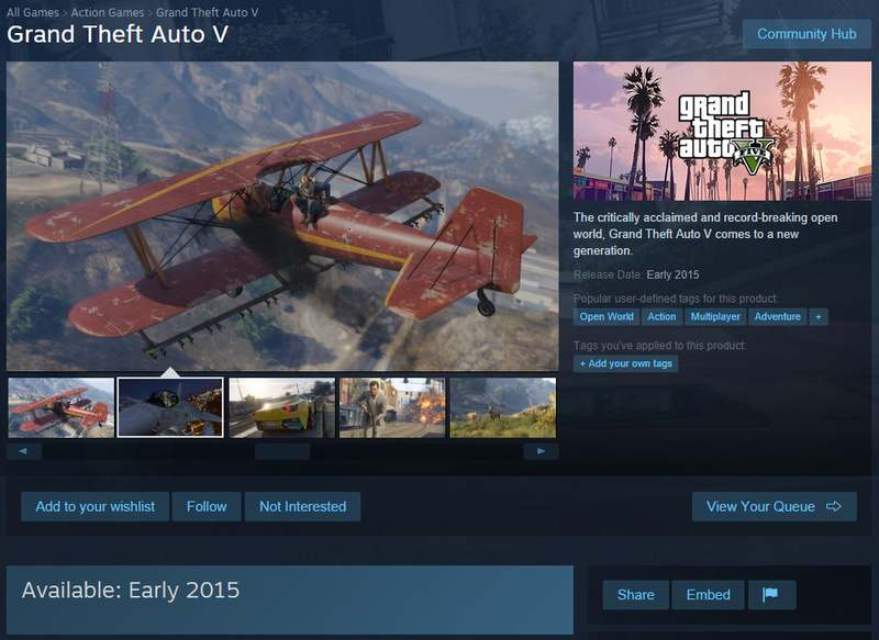 Gta V Steam