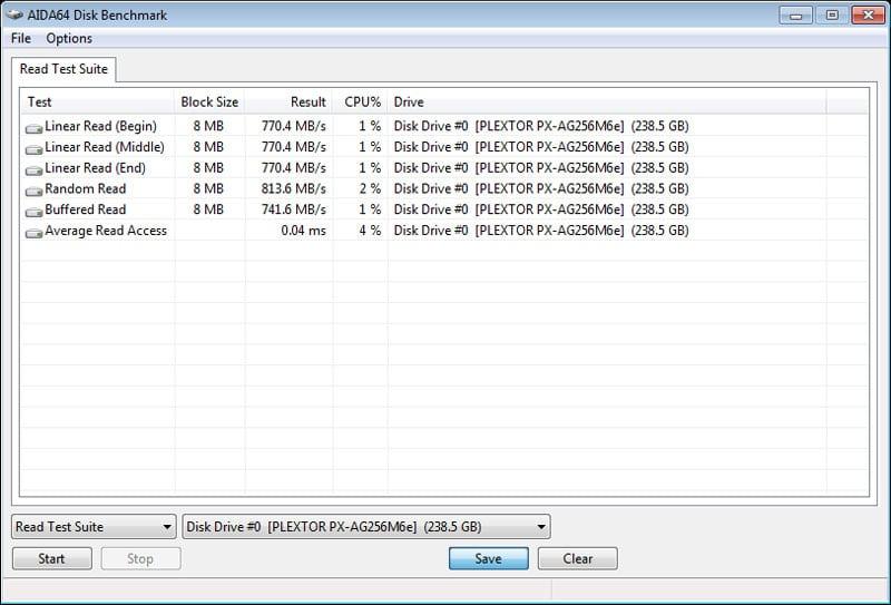 Plextor_M6e_BE-Benchmark-AIDA64-Suite