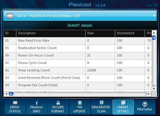 Plextor_M6e_BE-Software-PlexTool_6