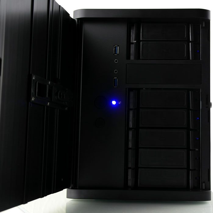 Silverstone DS380 NAS Chassis Review   eTeknix